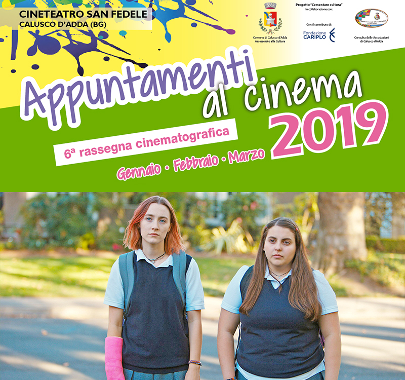 Appuntamenti al Cinema 2019